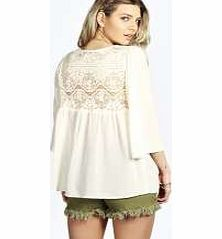 boohoo Embroidered Woven Trim Smock Top - cream azz20582 Outerwear gets oriental with the kitsch kimono . This folk-inspired fashion piece, with arty aztec and edgy ethnic prints, livens up a little black dress and makes day wear directional. Team with a ta http://www.comparestoreprices.co.uk/womens-clothes/boohoo-embroidered-woven-trim-smock-top--cream-azz20582.asp