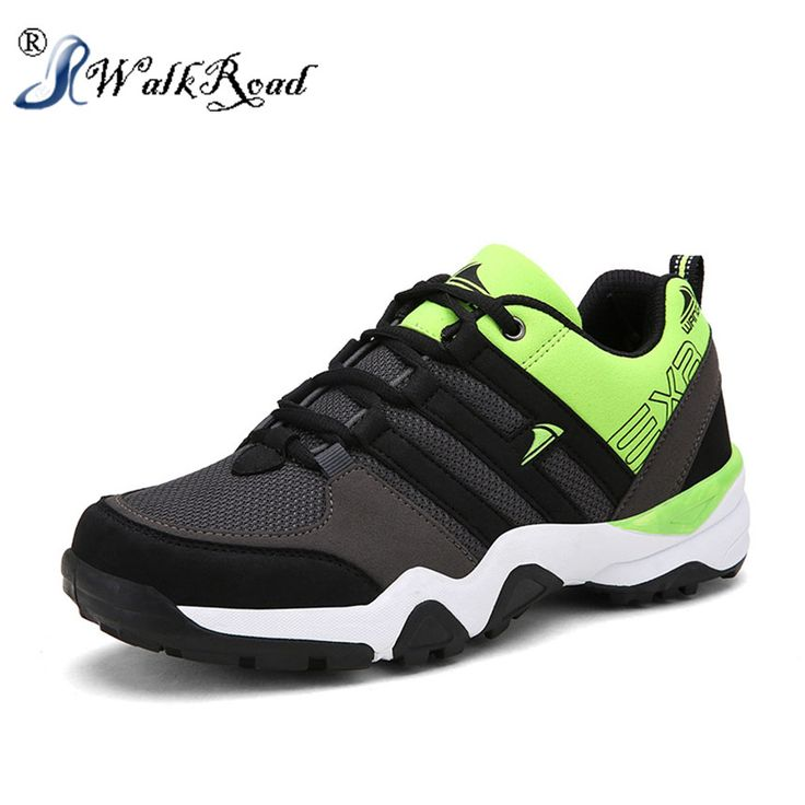 Men 2016 Trail Running Sports Athletic Shoes mens sneakers Fast Lacing System Shoes Breathable Walking Shoes