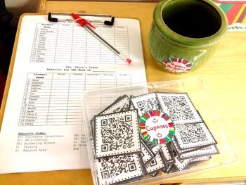 I love this idea for using QR codes as behavior coupons
