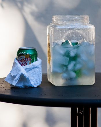 Science Fair: Fastest Way to Cool a Soda-lesson for 4th graders