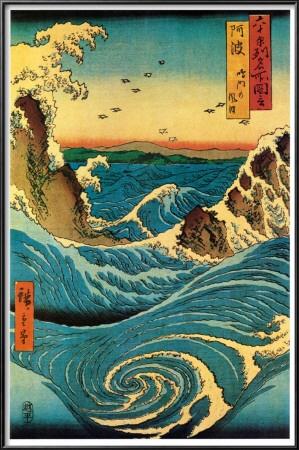 Navaro Rapids, Hiroshige.