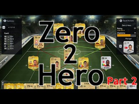 Fifa 15: Zero 2 Hero - Part 2 | Ultimate Team fifa 15 zero 2 hero part 2  fifa 15 ultimate team  ultimate team with fifa 15, building a silver team to a sick team with packs opened after scoring goals