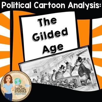 check this out for synthesis practice free political cartoon analysis activity the gilded. Black Bedroom Furniture Sets. Home Design Ideas