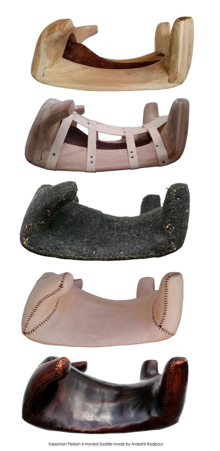 Sassanian Persian - Roman Saddle Construction