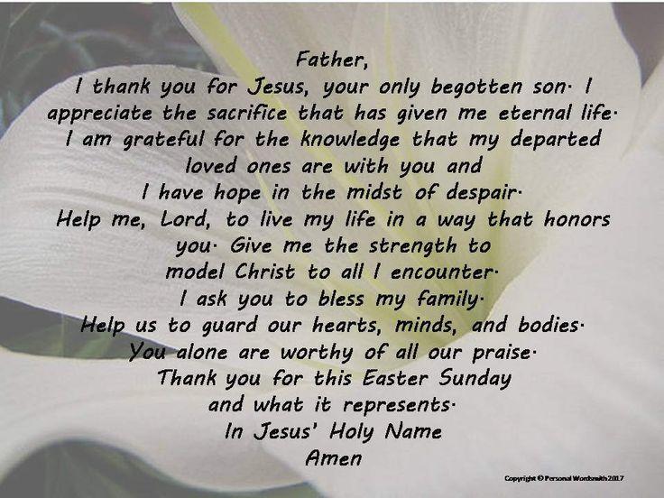 Easter Prayer Digital Print, Downloadable Palm Sunday Prayer, Printable Prayer for Easter, Christian Easter Print, Easter Prayer Print Decor by PersonalWordsmith on Etsy