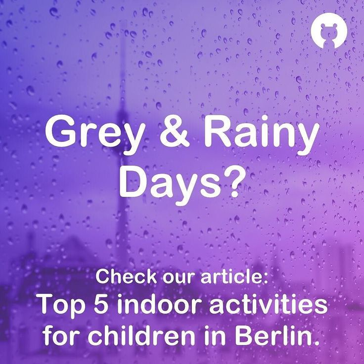 Even the best playground can feel miserable in Berlin weather. Go to our website berlin-playgrounds.de to find also indoor activities now. #berlinmitkind #berlinwithkids #berlin