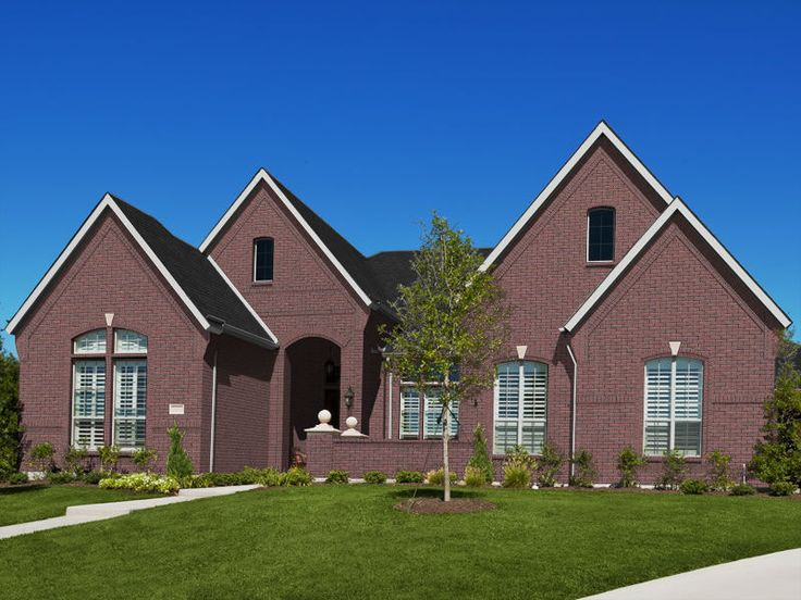 Acme Carson Canyon Modular Brick Super Black Mortar Windsor Black Shingles Exterior