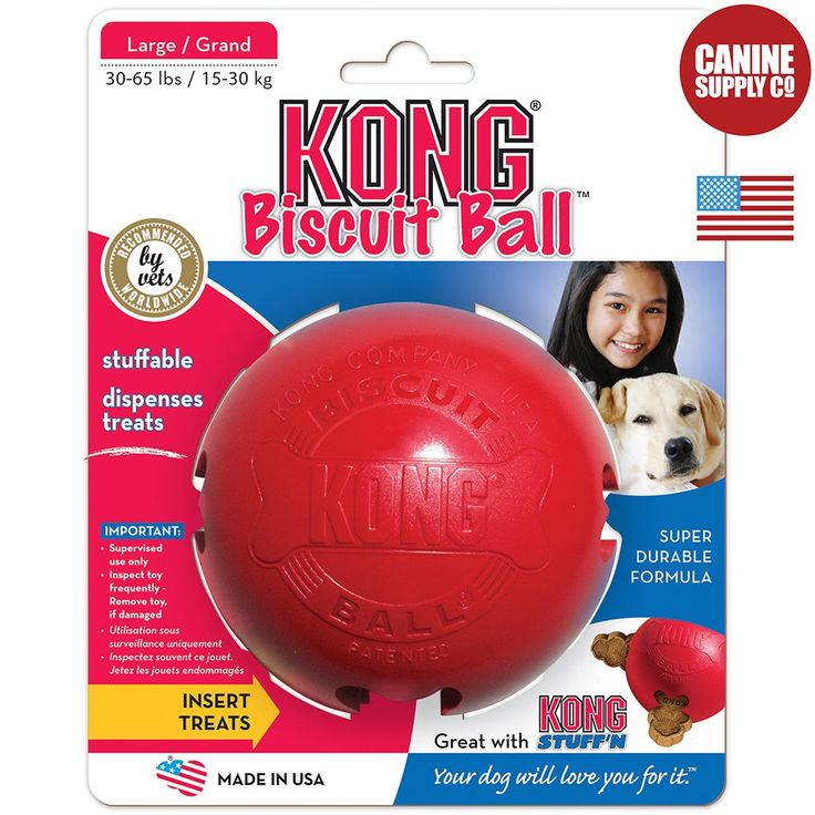 KONG Classic Biscuit Ball