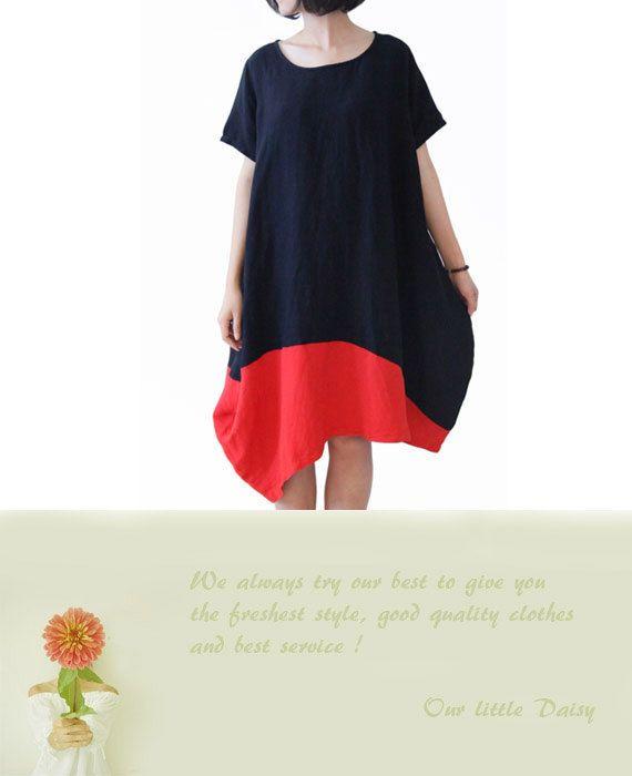 Woman Dress Linen dress Cotton Dress Summer by OurLittleDaisy, $89.00