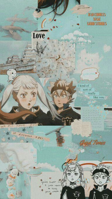 Up on patreon is a noelle silva full color illustration. black clover Asta and noelle | Animes wallpapers ...
