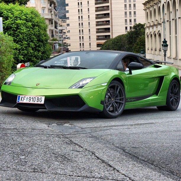 In This Picture, The Lamborghini Gallardo Superleggera Has A Bend That  Looks Like It Starts