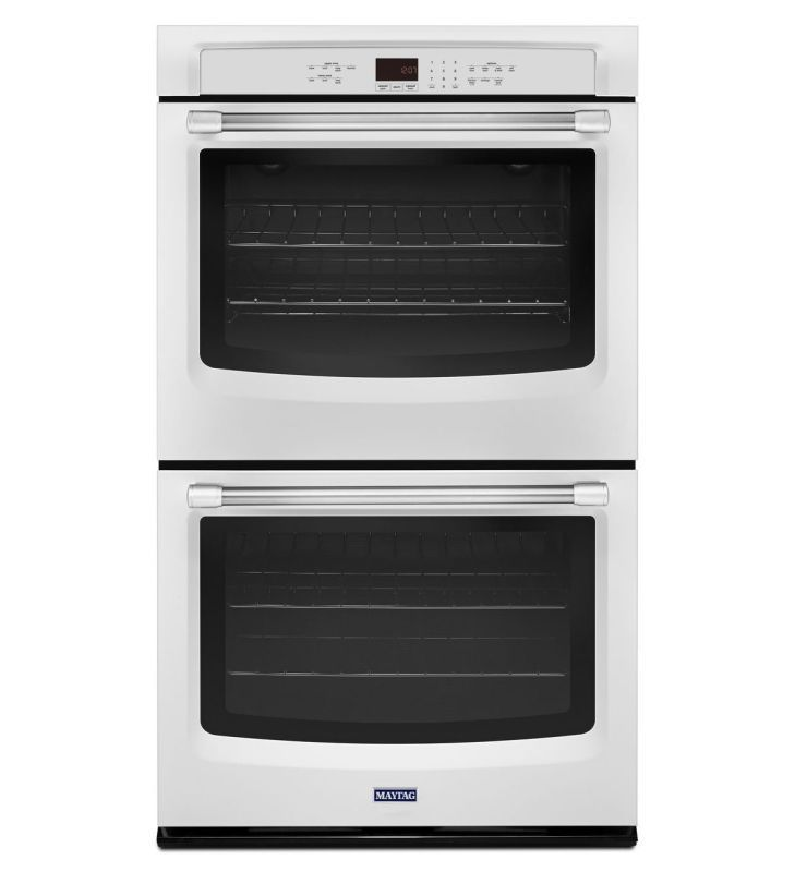Maytag Mew7627d 27 Inch Wide 8 6 Cu Ft Electric Double Wall Oven