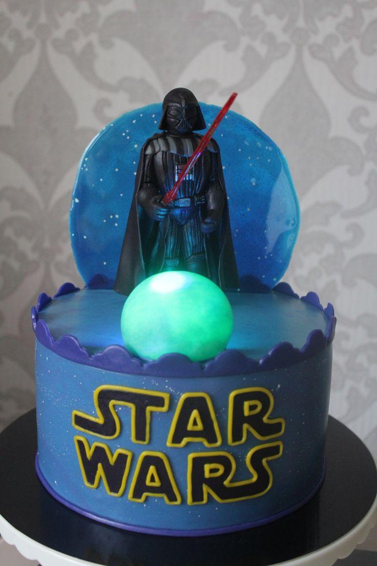 Star Wars cake  Cake  Pinterest  Cake 9th birthday cake  Star wars cake