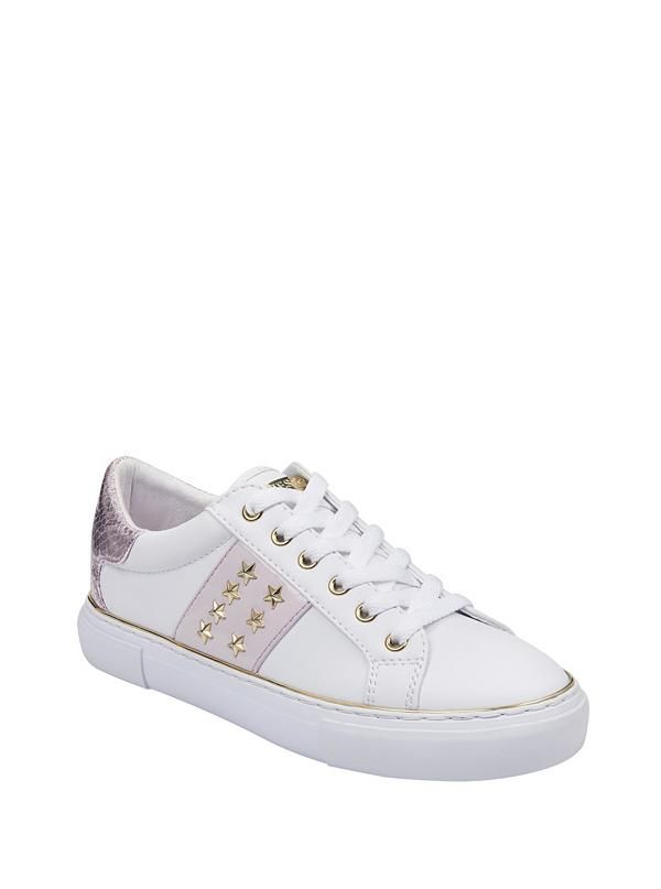 Studded sneakers, Sneakers, Guess shoes