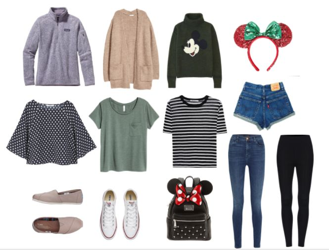 Packing for Walt Disney World in the Winter