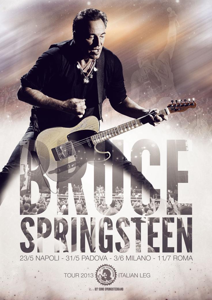 Bruce Springsteen - Tour 2013 Italian leg