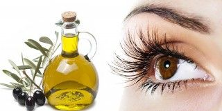 *****Olive Oil For Eyelashes >>> Pour a few drops of (olive oil   Vitamin E) on a cotton ball or eyelash brush, and apply it to your lashes. This regimen will yield better results if done at bedtime. Your eyes can get rest and the goodness of olive oil gets the chance to do its magic!
