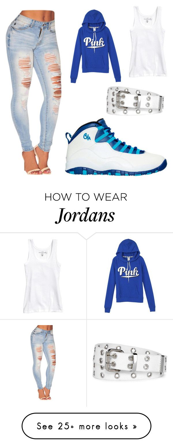 """""""Untitled #1"""" by xnaayglizzy-1 on Polyvore featuring Chicnova Fashion, Victoria's Secret, NIKE and Relic"""