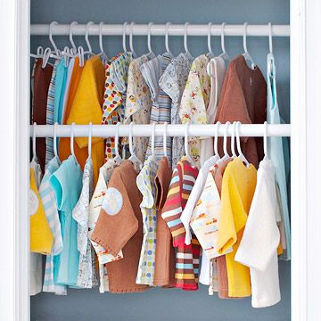 A Tiny Nursery With Big Style Closet Rod Hanging