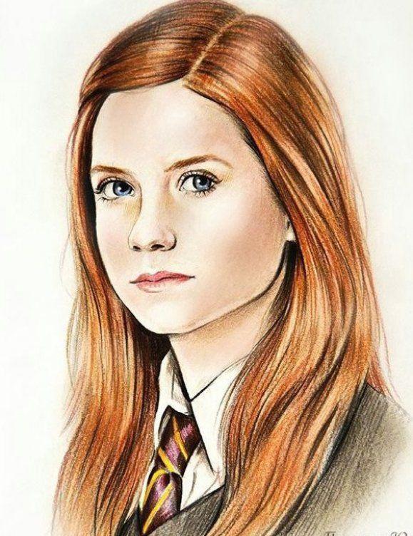Fan Art Harry Potter Ginny Wattpad Harry Potter Ginny Ginny Weasley Harry Potter Artwork