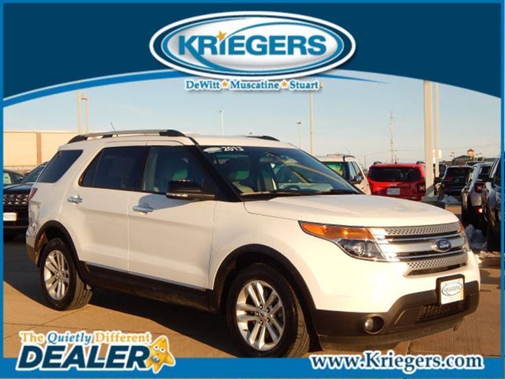 Used 2013 Ford Explorer XLT for sale in Muscatine - Krieger Motor Company - Muscatine Iowa - 1FM5K7D81DGC37596