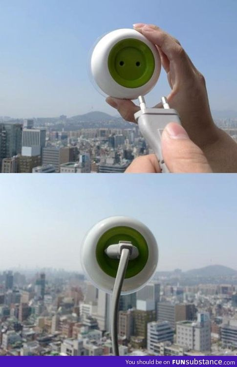 Solar power window plug. why are we not funding this