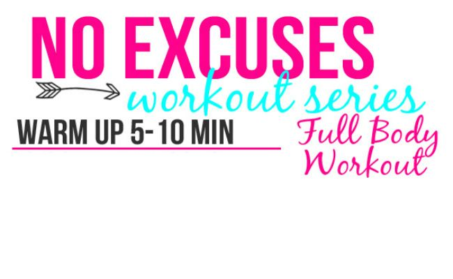 No Excuses Workout Series - Full Body Workout - Hairspray and Highheels