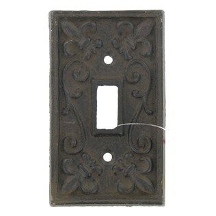 Hobby Lobby has cheap fancy light switch plates This is on sale for $1.99 and you can paint it fun colors. Or I bought some vintage plates for our house on ebay. Just thoughts to save a couple bucks.