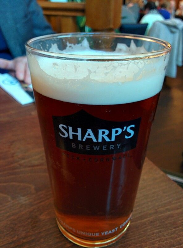 Sharp's Doom Bar, Cornwall - lightly bitter, fruity taste - 4/5
