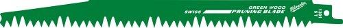 Milwaukee 48-00-1303 Sawzall Blade Wood 5 Teeth per Inch 12-Inch Length, 5 Pack