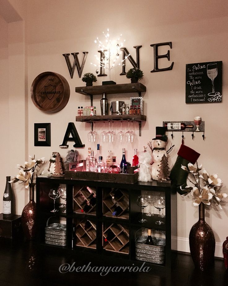 Wine Bar Decorating Ideas Home: 18 Best Images About Bethany & Carlos New Home On