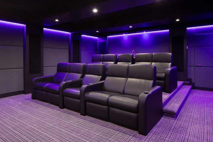 The Sound System For This Home Theater An Immersive Dolby Atmos
