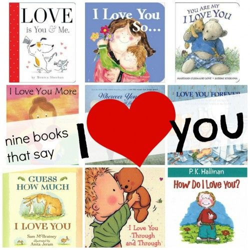 9 Books for Kids that Say I Love You
