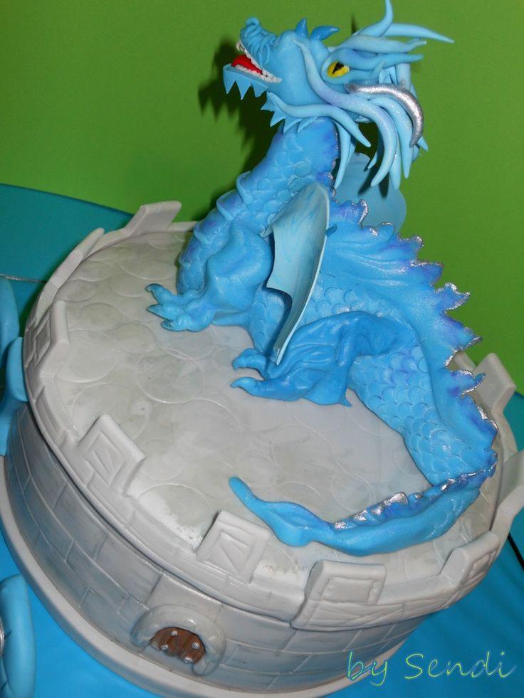 Dragon cake - Zmaj torta