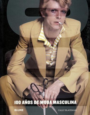 #Blume #Diseño: 100 años de moda masculina - Cally Blackman.  Repleto de imágenes que representan a los símbolos de la moda de Hollywood o a las personalidades artísticas de la década de 1930, este libro único en su estilo, analiza la evolución del vestuario masculino, desde la ropa más práctica hasta la más elegante. El impacto que ha ejercido Pierre Cardin, Giorgio Armani, Ralph Lauren y otros diseñadores se compara con otros tipos de moda, como la casual de los sesenta o la punk.