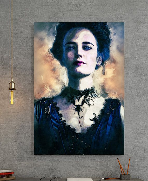Vanessa Ives Penny Dreadful Tv Series Canvas Print  by fireboxart