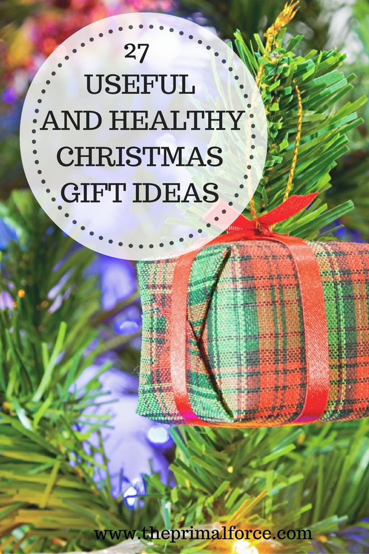 Are you ready for Christmas? Would you like to get healthier? Here is a list of 27 useful and healthy Christmas gifts for you!