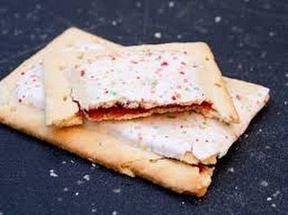 Healthy Strawberry Poptarts  10 oz flour  1 oz confectioners sugar (1/4 cup)  1/2 tsp salt  10 tbsp unsalted butter cold and cubed  1 egg yolk  1/4 cup skim milk  2-3 tbsp cream For the filling:  1 cup strawberry preserves  2 tsp cornstarch  1 tsp vanilla extract  egg wash (1 egg beaten) For the glaze:  4 oz confectioners sugar (1 cup)  2 tsp milk  2 tsp light corn syrup  sprinkles Directions: 1. For the pie crust place the flour confectioners sugar and salt in a food processor. Pulse five…