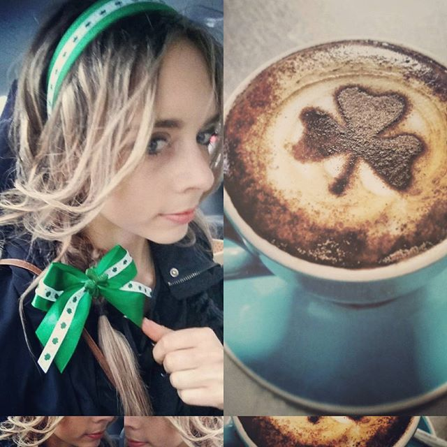 Happy St Patrick's day! 💚🍻😄🍀 #stpatricksday #irish #beer #beermaid #cafe #coffee #coffeeart #angelsbayside #huskisson #shoalhaven #alcohol #cappuccino #latteart #espresso #green #happiness #celebrate