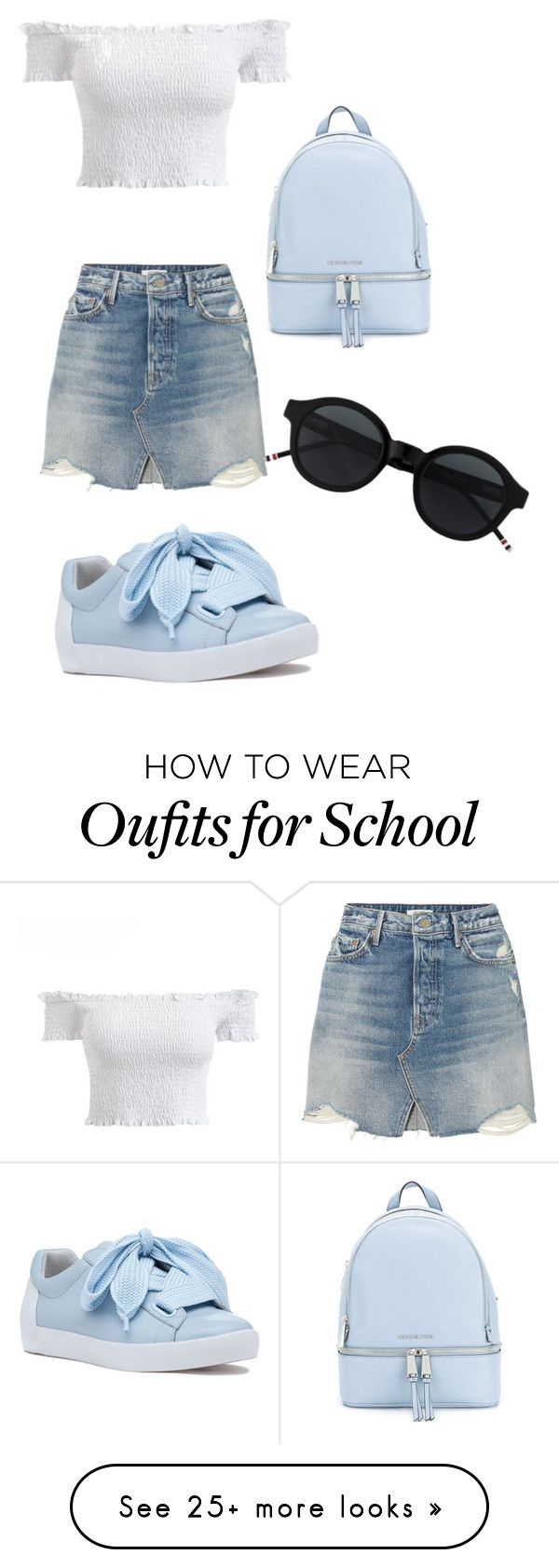 """""""Back2School Summer 2k18"""" by sign273b on Polyvore featuring GRLFRND, MICHAEL Michael Kors and Ash"""