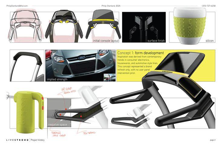 Livestrong 2012 treadmill on behance treadmill