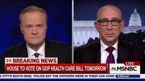 "On the eve of the House vote on the latest repeal and replace bill, Robert Greenstein, president of the Center on Budget and Policy Priorities, tells Lawrence O'Donnell how the late changes to pick up GOP votes has made ""an appalling bill significantly..."