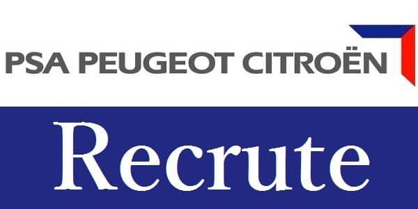 Psa Peugeot Citroen Recrute 20 Stagiaires Pfe Sur Casablanca Et Kenitra Dreamjob Ma Recrutement Casablanca Peugeot