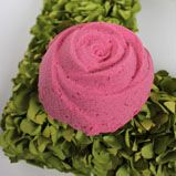 Sparkle Power Bath Bomb Tutorial: Cup Sodium Bicarbonate (Baking Soda)  1/2 Cup Citric Acid  1/2 Cup Corn Starch  1/2 Cup Coarse Epsom Salt  1.5 Tablespoons Avocado Oil  9 mL Love Spell Fragrance Oil  Rosy Pink LaBomb Colorant  Iridescent Glitter  Rose Mold