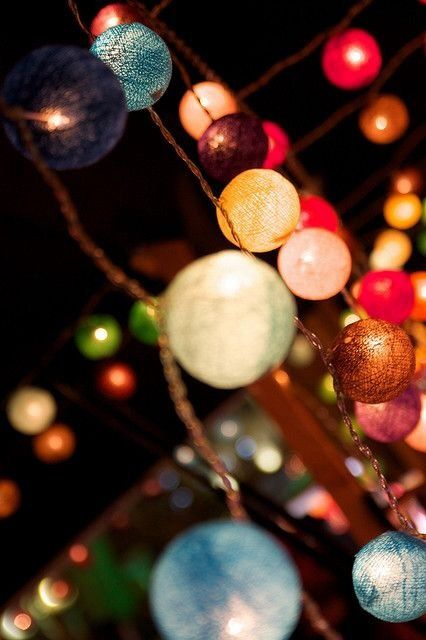 lights for summer night parties