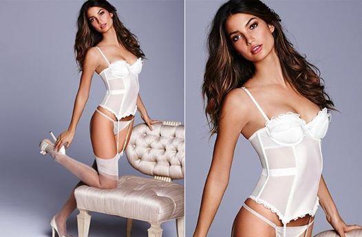 Sexowna biała bielizna dla panny młodej - kolekcja Victorias Secret - 200zl