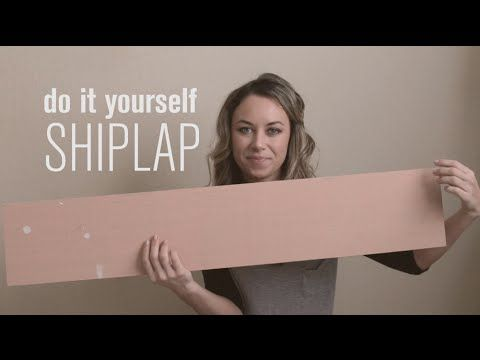 DIY Shiplap Video Tutorial, the easy and inexpensive way! | Jenna Sue Design Blog