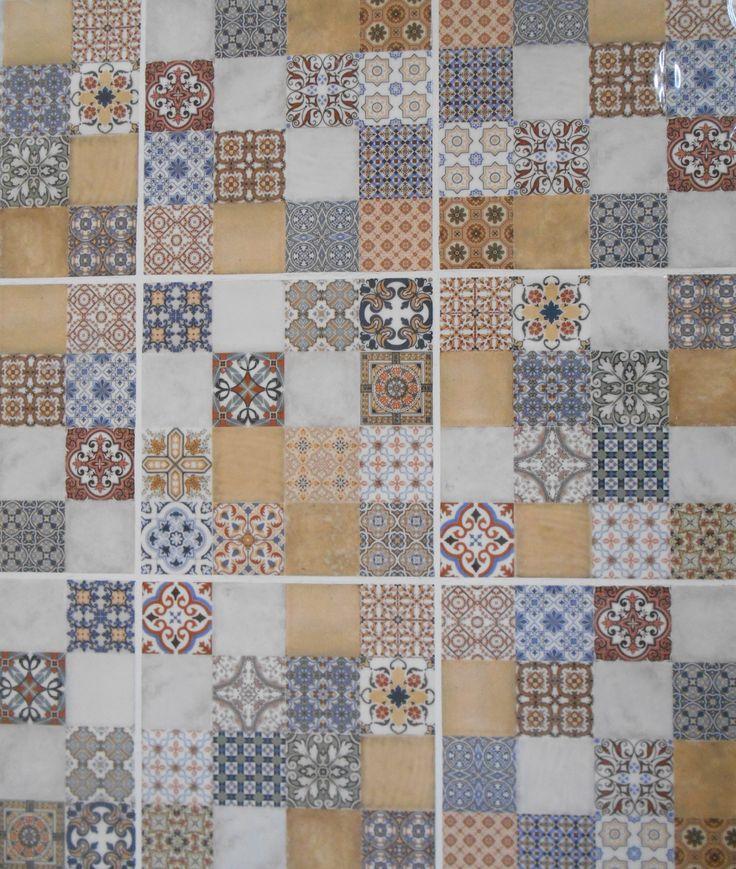 mosaic art tiles - Matchstick Tile Castle 2016