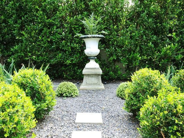 Great idea - a focal point for a section of your landscape: Garden Architecture, Backyard Ideas, Outdoor Ideas, Garden Ideas, Garden Design, Designer, Formal Gardens, Focal Point, Garden Fountains