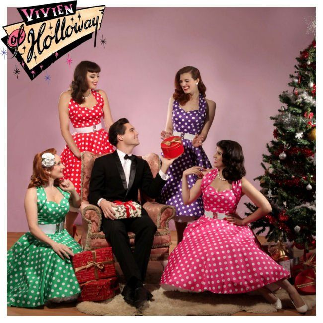 Fab Vintage Dresses from Vivien of Holloway